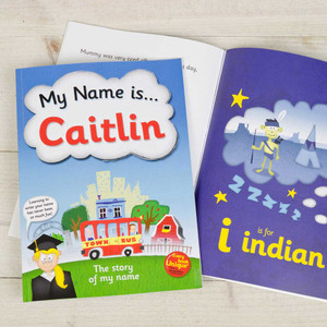 My Name Is... Personalised Childrens Book