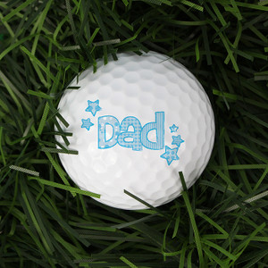 Personalised Dad Golf Ball From Something Personal