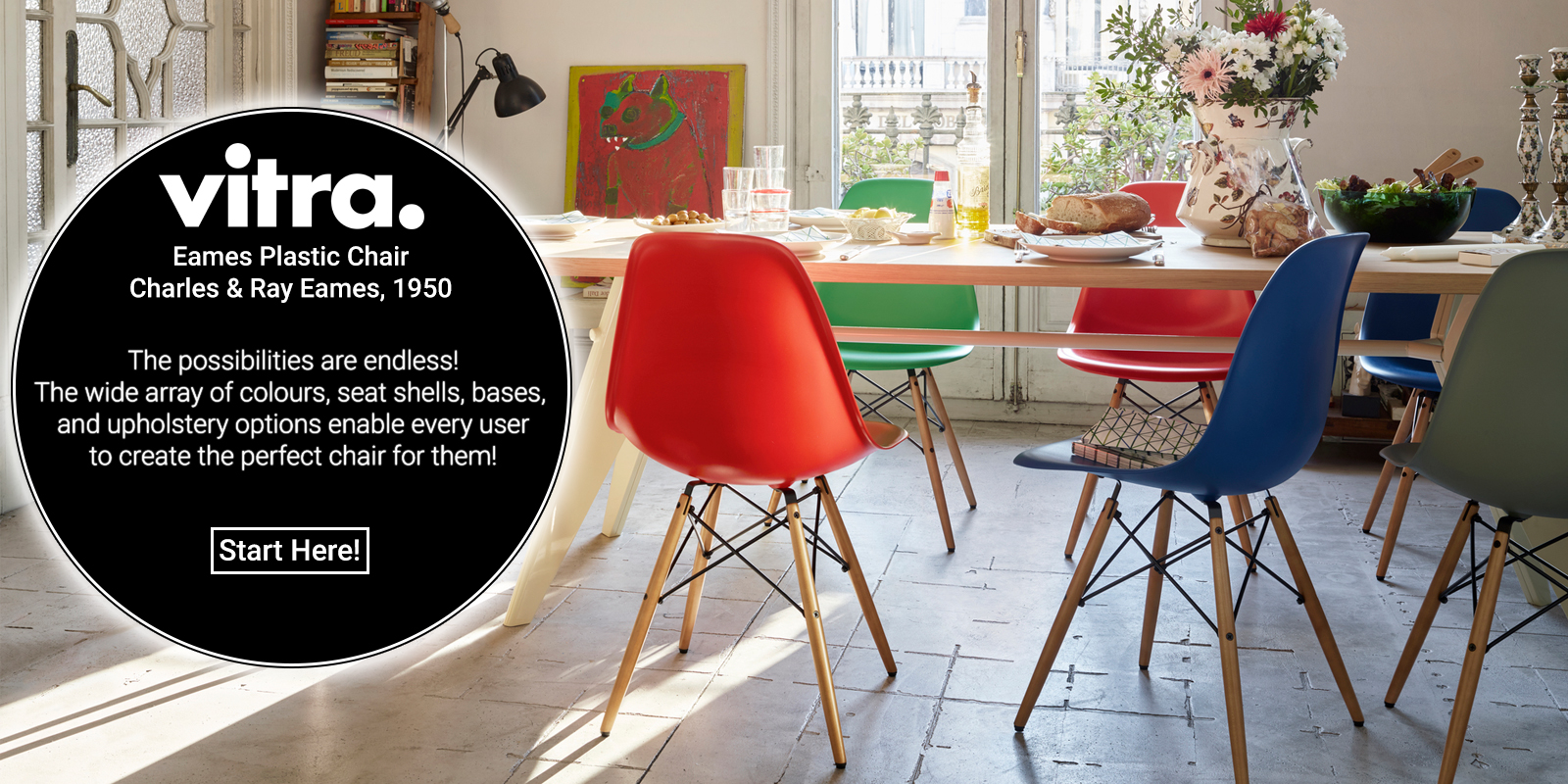 Vitra Eames Plastic Chair Promotion