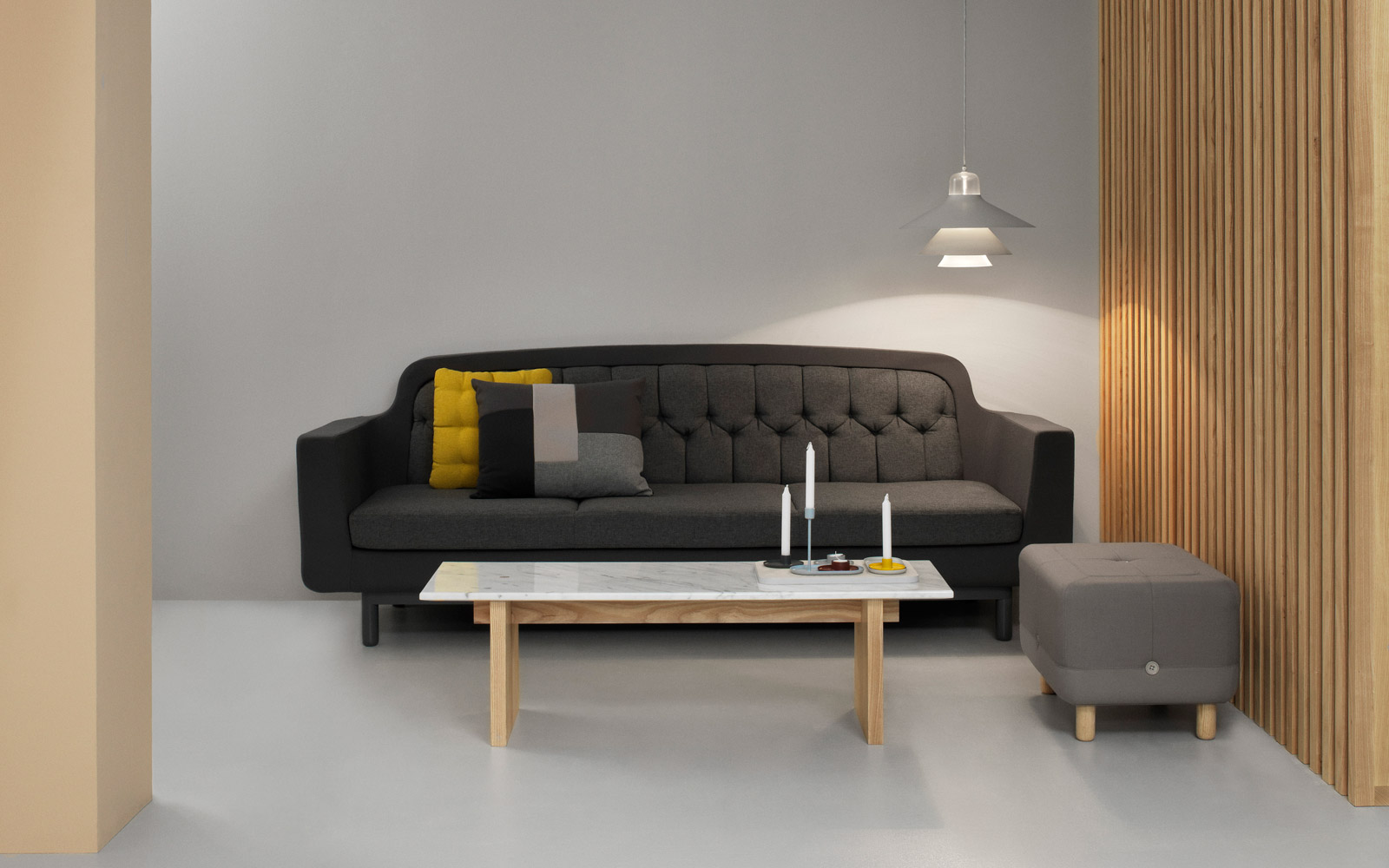 Normann Copenhagen Onkel 3 seater sofa