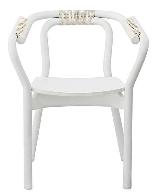 Knot Chair- White/Ash