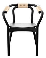 Knot Chair- Black&Natral/Ash