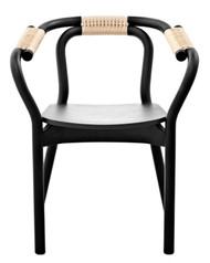 Knot Chair- Black&Natral/Ash