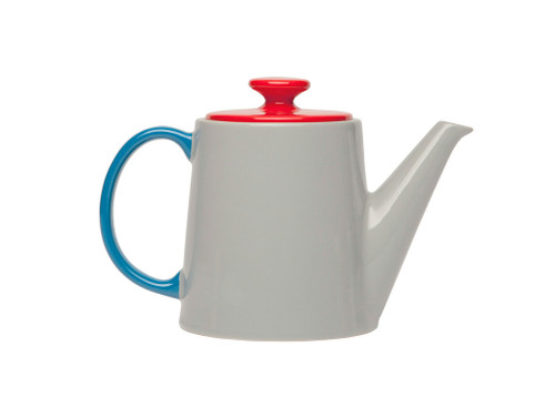 Jansen+Co My Teapot- Grey and Red