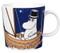 Finland Arabia Moomin Mug, Moomin Pappa- Dark Blue
