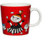 Finland Arabia Moomin Mug, Little My Red - Red