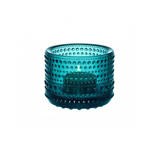 IIttala Kastehelmi Votive Candle Holder- Sea Blue
