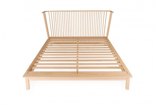 Designed by Studioilse and manufactured by De La Espada for the Studioilse brand. The Companions family of furniture is designed to support daily life. Companions Bed, made from solid wood, is reassuringly familiar but carefully detailed.