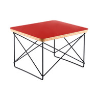 Ex Display Vitra Eames Occasional Table LTR In Red