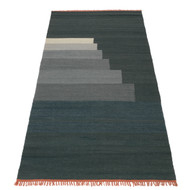 CLEARANCE &Tradition Another Rug - Blue Thunder 90 x 240cm