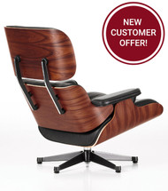Vitra Eames Lounge Chair - Santos Palisander