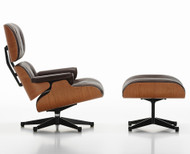 CLEARANCE Vitra Eames Lounge Chair & Ottoman American Cherry