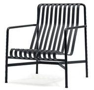 HAY Palissade Lounge Chair High - Anthracite