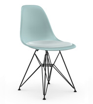 CLEARANCE Vitra Eames DSR Chair - Ice Grey / Ice Blue
