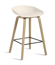 CLEARANCE HAY About A Stool AAS 32 - Low / Cream White