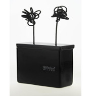 Diffuser Black Flowers in vetro nero
