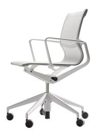Vitra Physix Chair by Alberto Meda silver