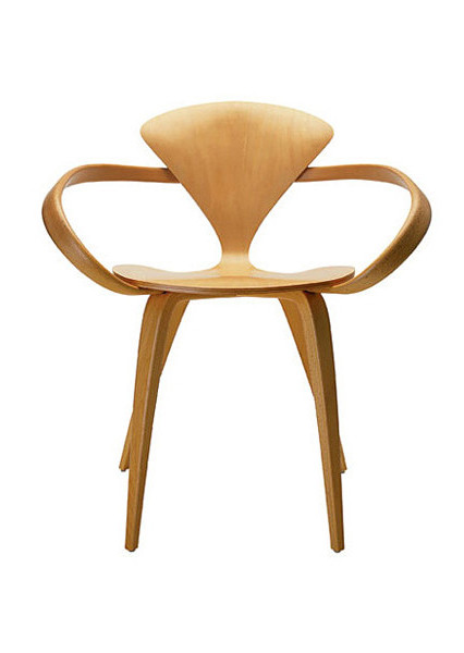 Cherner Armchair Natural Beech