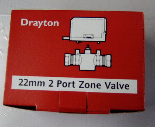 Drayton 2 Port Zone Valve 22mm