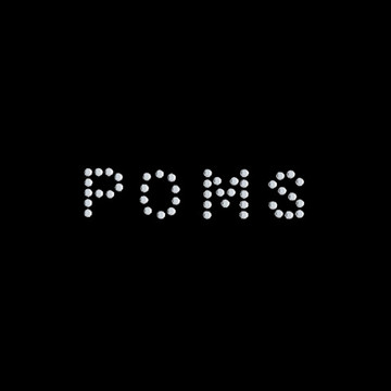 HP7- Poms - Rhinestone