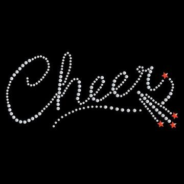HP11- Cheer Script w/Shooting Stars - Studs
