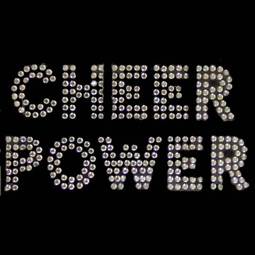 HP44- Cheer Power - Rhinestone