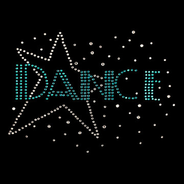 HP75- Dance w/Star - Rhinestone