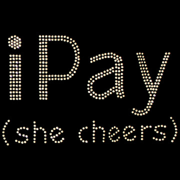 HP181 - i Pay (She Cheers) - Rhinestone