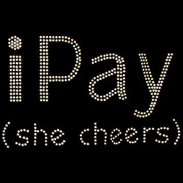 HP181 - i Pay (She Cheers) - Rhinestone
