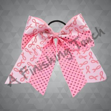 BC825- Pink Ribbon Bow