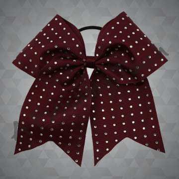 918- One-Layer Cheer Bow with Classic Rhinestones