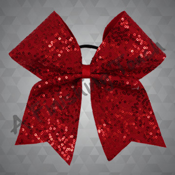 944- One-Layer Dazzle Sequins Bow