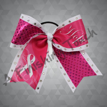 BC907- Hope Breast Cancer Bow