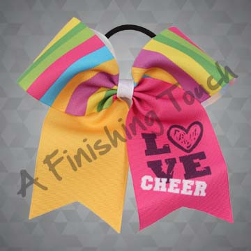 978- Small Custom Sublimated Bow