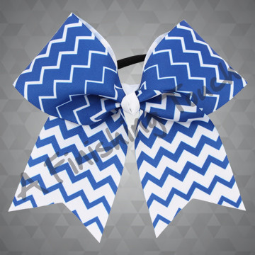 1012F- Two-Color Chevron Cheer Bow