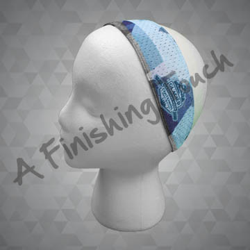 SU-H106- Mesh Headband w/Elastic