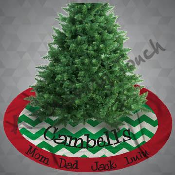 """SU-CRS100- 60"""" Christmas Tree Skirt"""