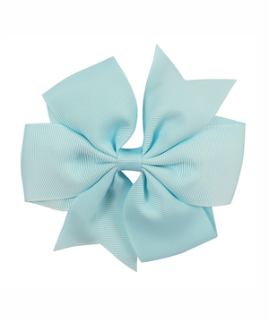 "1624 - 4.5"" Pinwheel Bow on Clip"