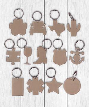Clear Acrylic Keychains - Mini