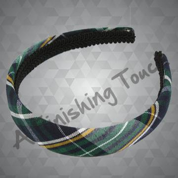216- Plaid or Solid Padded Headband