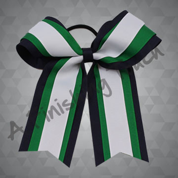 281- Three-Layer Two-Loop Cheer Bow with Tails