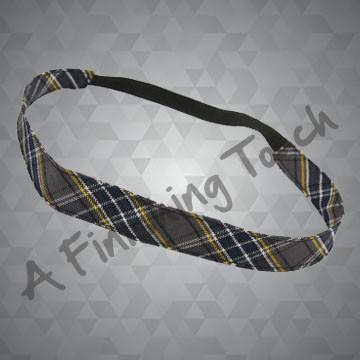 321- Plaid or Solid Narrow Soft Headband