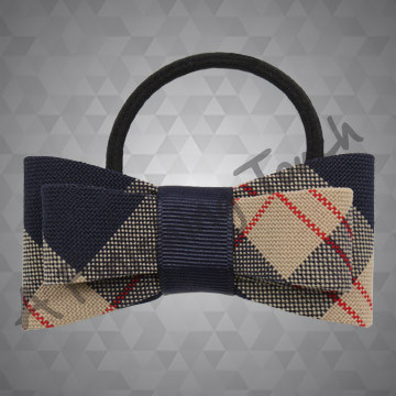 345- Plaid or Solid Pony Bow