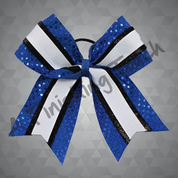 418- Three-Layer Cheer Bow with Tails