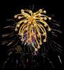Fireworks on Night Sky- Scarf