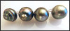 Tahitian Circle Pearl with bubble bottom- Pendant number 05