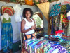 Carved wood-people pens and one funny animal-Maputo Mozambique