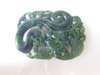 "Carved Green Jade Pendant- Side 1 2"" x 1.4""   $1600.00 - Original Quote  $  350.00 - NY City Quote"