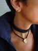 Bowl of Diamonds Necklace or pearl enhancer-large-18K gold