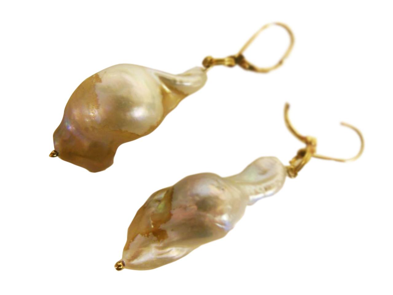 Jumbo Pearl Earrings-One of a kind-002